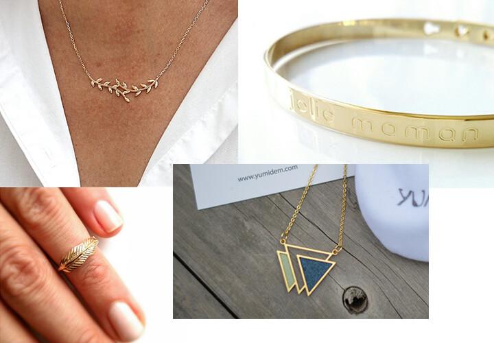 Idées cadeaux fête des mères : bijoux